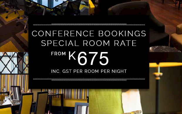 Conference Bookings Special